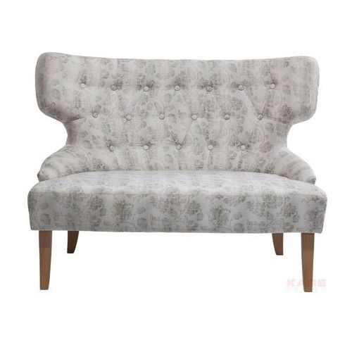 Flora Beige Sofa Beżowa 2 Osobowa Tkanina - 79785, Kare Design