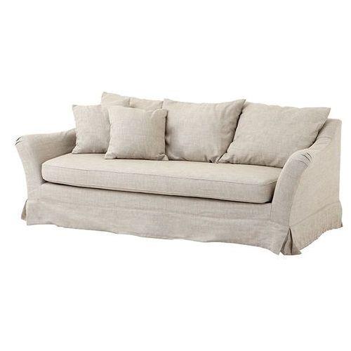 EICHHOLTZ Montgomery Sofa Beżowa Tkanina - 06898