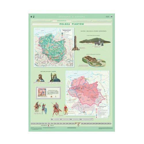 Produkt Polska Piastów. Mapa ścienna Polski, marki Nowa Era