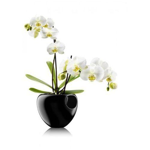 ORCHID Doniczka Samopodlewająca do Kwiatów - Czarna, produkt marki Eva Solo