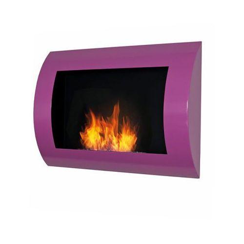 Biokominek dekoracyjny Convex (fioletowy) EcoFire - oferta [1532ec0911d215f2]
