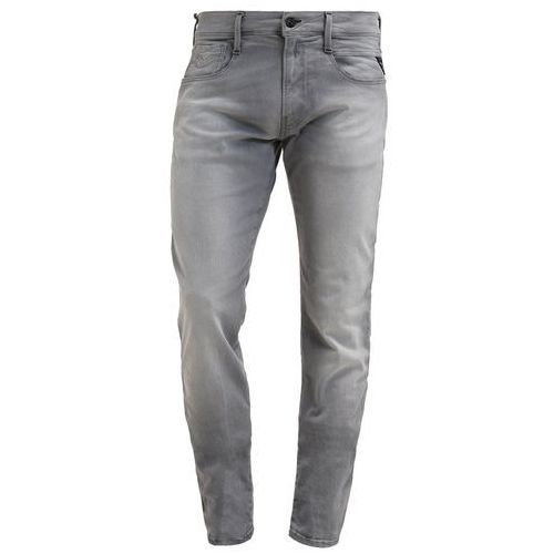 Replay HYPERFREE ANBASS Jeansy Slim fit grey used - produkt z kategorii- spodnie męskie