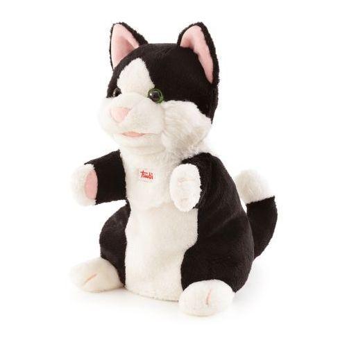 Pluszowa pacynka na rękę, przytulanka, Kot Figluś, 29938-Trudi, zabawa w teatrzyk (pacynka, kukiełka)
