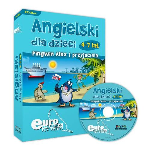 Produkt EuroPlus+ Angielski dla dzieci - Pingwin Alex i przyjaciele
