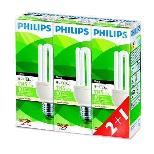 Oferta Philips Genie 18W, E27, 3 sztuki z kat.: oświetlenie