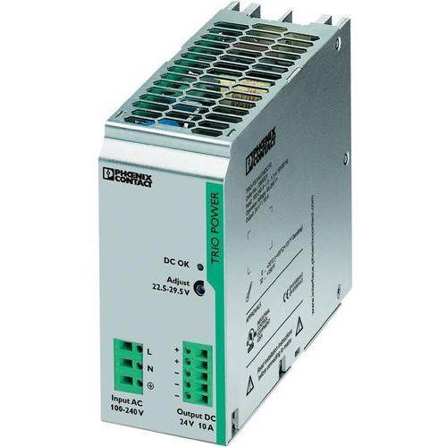 Artykuł Zasilacz na szynę Phoenix Contact TRIO-PS/1AC/24DC/10, 24 V, 10 A z kategorii transformatory