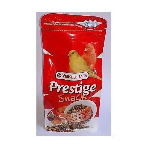 Prestige Snack Canaries 125g przysmak z biszkoptami i owocami dla kanarków