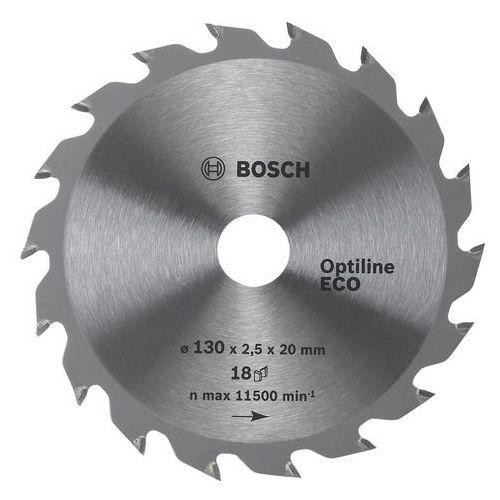 Bosch Tarcza pilarska Optiline ECO 160x20/16x2,5 mm, 18 zębów, kup u jednego z partnerów