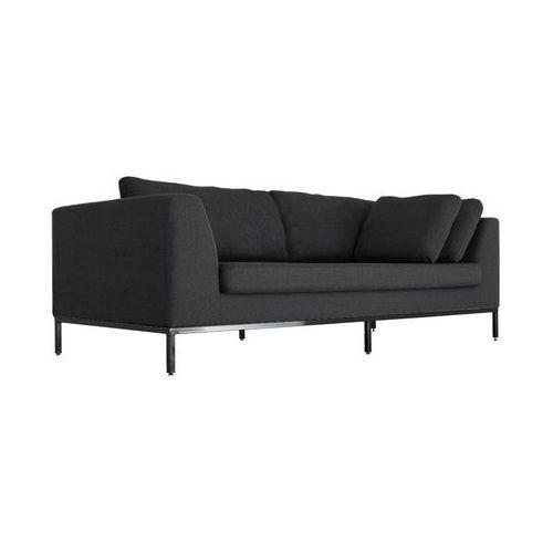 Ambient Zestaw Sofa + Fotel Tkanina Ciemny Grafit - c2059, CustomForm