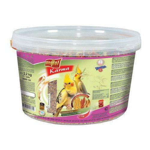 Vitapol Pokarm dla nimfy wiaderko 3L / 2,2kg [2261], vitapol