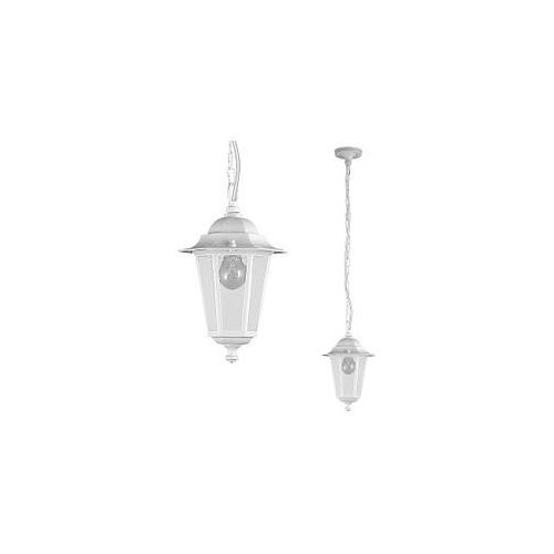 Zewnętrzna LAMPA wisząca OPRAWA ogrodowa VELENCE outdoor  8207 IP43 biały, Rabalux
