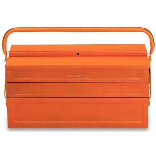 Towar z kategorii: skrzynki i walizki narzędziowe - BETA Skrzynka narzędziowa pięcioczęściowa z blachy st