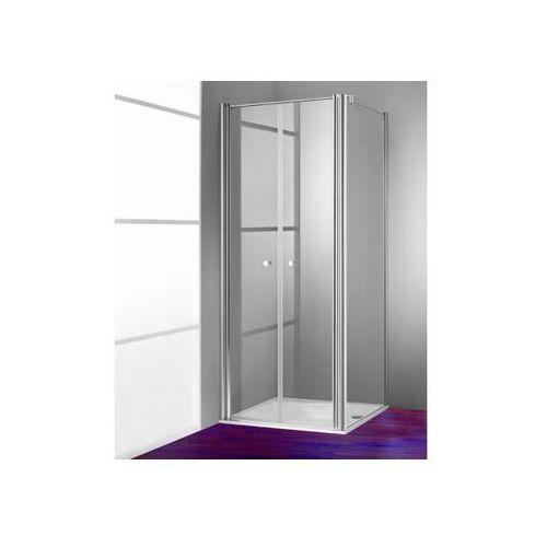 Huppe 501 Design pure Ścianka boczna do drzwi wahadłowych - 70/200cm biały Szkło przezroczyste 51055405532