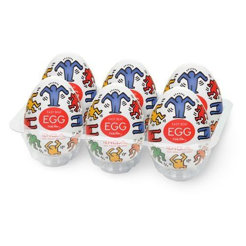 TENGA Masturbator - Jajko Keith Haring Egg Dance (1 sztuka) - oferta [253be107f1c264b2]