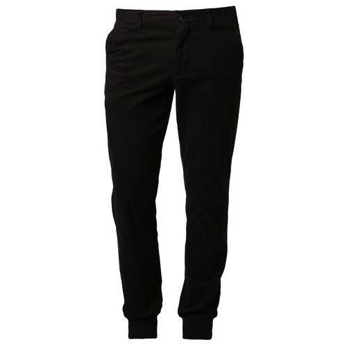 Produkt z kategorii- spodnie męskie - Michael Kors CAVALRY Spodnie materiałowe czarny