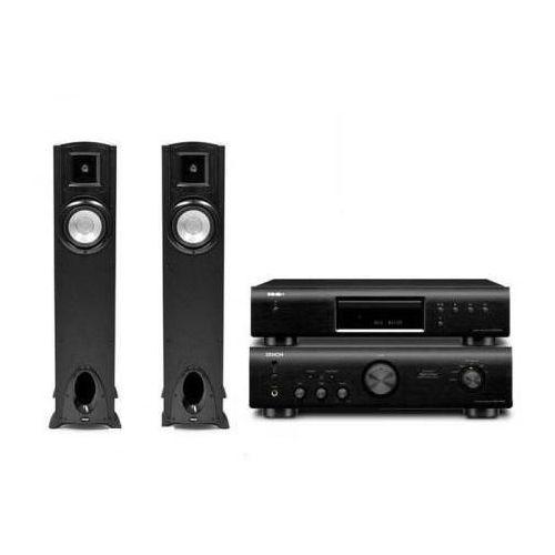Artykuł DENON PMA-520 + DCD-520 + KLIPSCH SYNERGY F10 z kategorii zestawy hi-fi