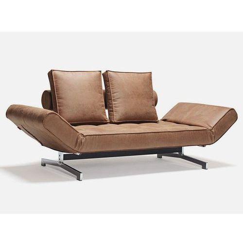 Sofa Ghia brązowa 551  743020551-743020-0-2, INNOVATION iStyle