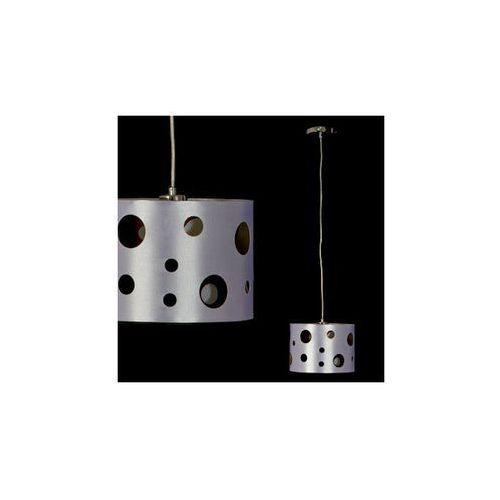 Abażurowa LAMPA wisząca OPRAWA zwis do salonu WING Italux MDM1700/1 IP20 srebrny - sprawdź w MLAMP.pl - Rozświetlamy Wnętrza