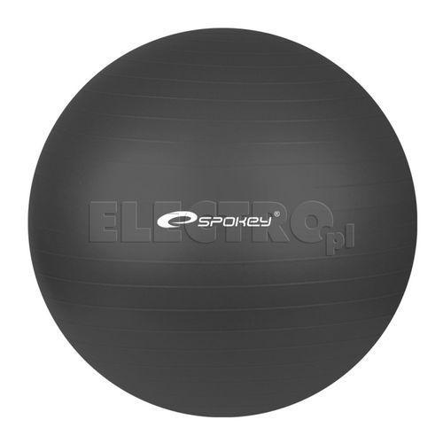 Produkt Piłka gimnastyczna SPOKEY Fitball Czarna 55cm + Odbiór w 650 punktach Stacji z paczką!
