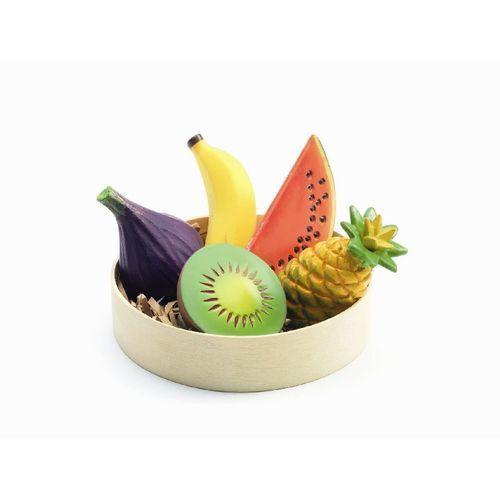 Owoce egzotyczne w drewnianej tacy Djeco DJ06607 oferta ze sklepu tublu.pl