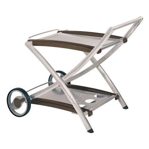 Wózek aluminiowy srebrny Melange (stół ogrodowy)