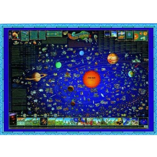 Mapa świata dla dzieci System Słoneczny, produkt marki expressmap