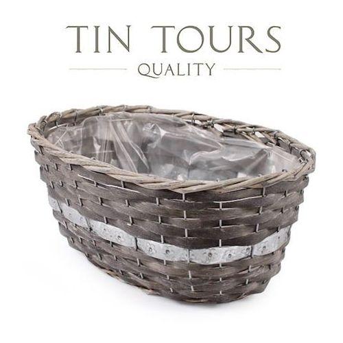 Produkt OWALNA OSŁONKA WIKLINOWA 37x26x17 cm, marki Tin Tours Sp.z o.o.