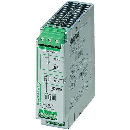 Artykuł Zasilacz na szynę Phoenix Contact QUINT-ORING/24DC/2X20/1X40, 24 V, 40 A z kategorii transformatory