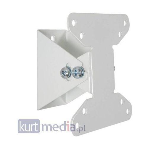 Uchwyt ścienny do LCD 10-22'' udźwig 20kg - biały, towar z kategorii: Uchwyty i ramiona do TV