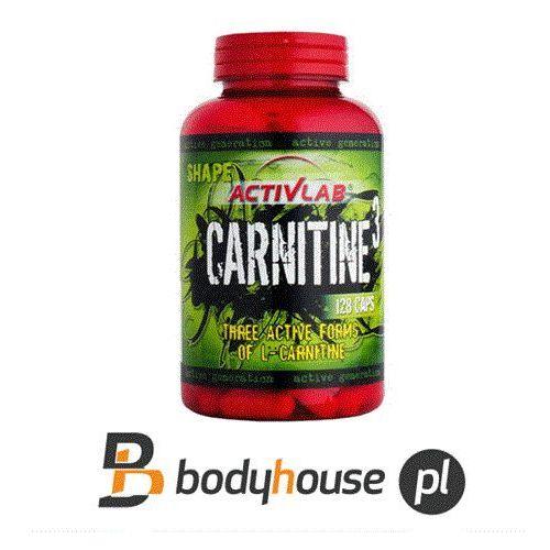 l-carnitine-3 - 128kaps. wyprodukowany przez Activlab