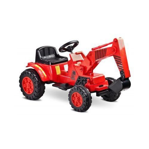 Caretero Toyz Digger pojazd na akumulator red ze sklepu strefa-dziecko.pl