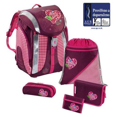 HAMA Zestaw szkolny FLEXLINE Tweedy Hearts - 5 części - oferta [55232a7847f162d8]