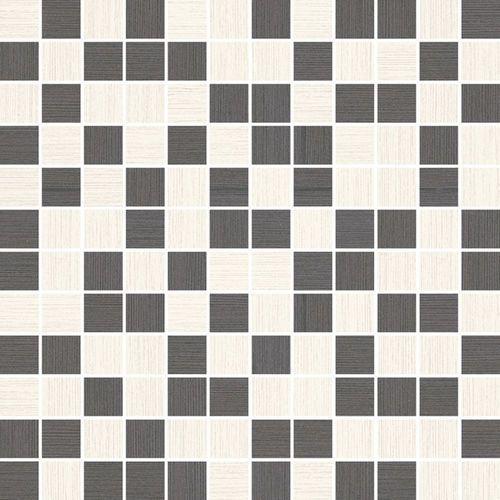 Sottile Bianco/Grafit Mix mozaika 29,8x29,8 gat.I (glazura i terakota)