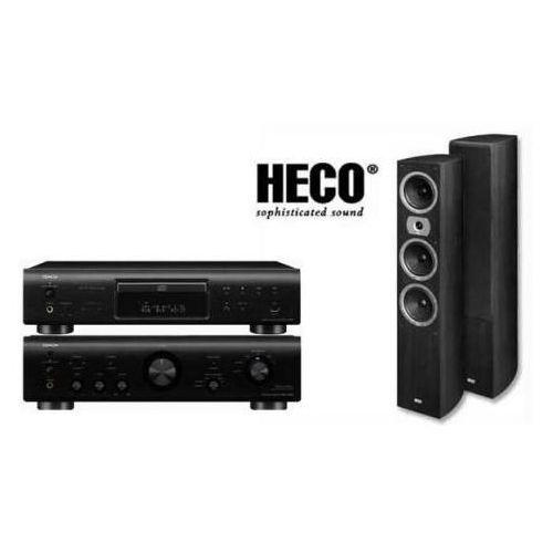 Artykuł DENON PMA-710 + DCD-710 + HECO VICTA II 701 z kategorii zestawy hi-fi