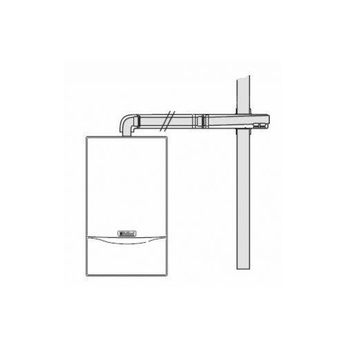Oferta Vaillant Poziome wyprowadzenie powietrzno - spalinowe (60/100) z kat.: ogrzewanie