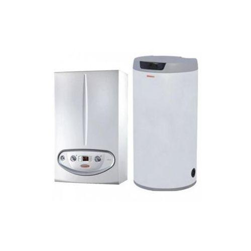 kocioł kondensacyjny jednofunkcyjny victrix 24kw + zasobnik 100l 3.022109/o100 od producenta Immergas