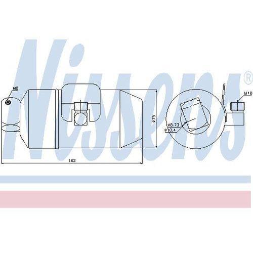 Towar z kategorii: osuszacze powietrza - Osuszacz, klimatyzacja NISSENS 95027