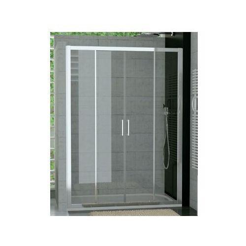 SANSWISS TOP-LINE drzwi rozsuwane czteroczęściowe 140 TOPS414005007 (drzwi prysznicowe)