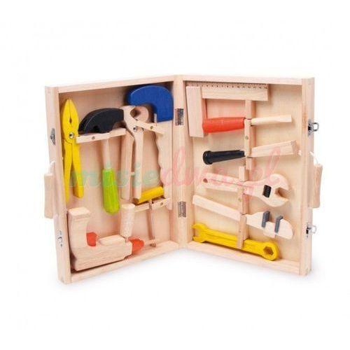 Towar Piękna drewniana skrzynka z narzędziami BJ245 z kategorii skrzynki i walizki narzędziowe