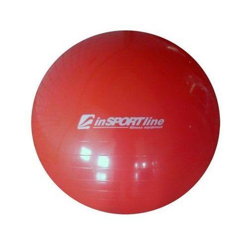Produkt INSPORTLINE Top Ball 75 cm z pompką IN 3911-2 - Czerwona - Piłka fitness