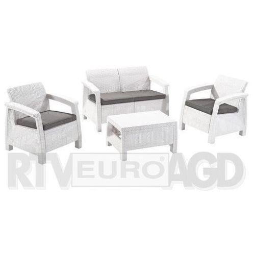 Towar  Zestaw Corfu Set (biały) z kategorii pozostałe meble ogrodowe
