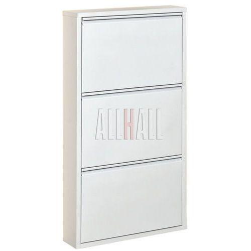 Szafka na buty HOME HB3 - biały połysk, marki AllHall do zakupu w Meble Pumo