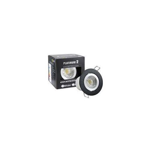 Halogen sufitowy LED Platinum 2 STAR z oprawą okrągłą 5,5W barwa biała zimna z kategorii oświetlenie