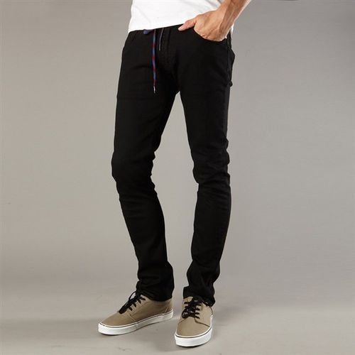 spodnie FOX - T- Rex Punk Black (569) rozmiar: 28 - produkt z kategorii- spodnie męskie