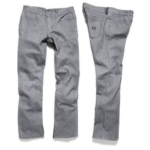 spodnie KREW - K Slim All Weather Grey Wax (GREY WAX) rozmiar: 36 - produkt z kategorii- spodnie męskie