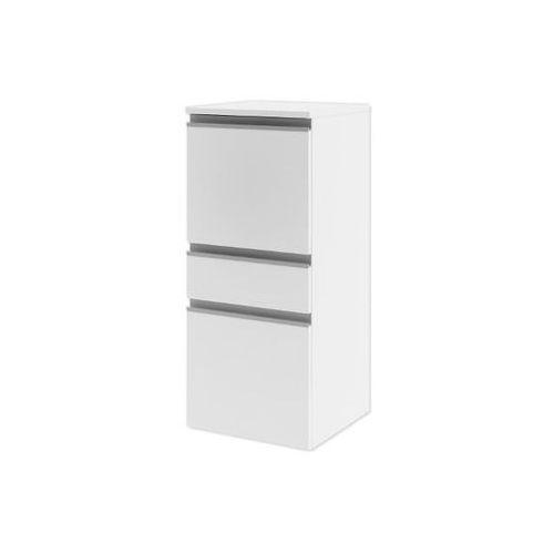Półsłupek łazienkowy PORTOFINO z drzwiami i szufladą lewy biały 0415-240101 Aquaform - produkt z kategor
