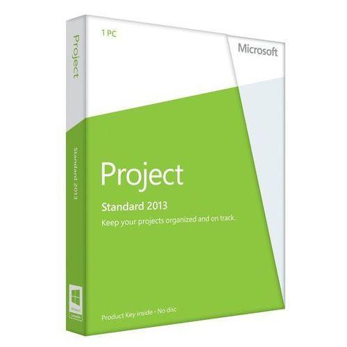 Microsoft Project Standard 2013 2013 32-bit/x64 Polish ESD z kategorii Programy biurowe i narzędziowe