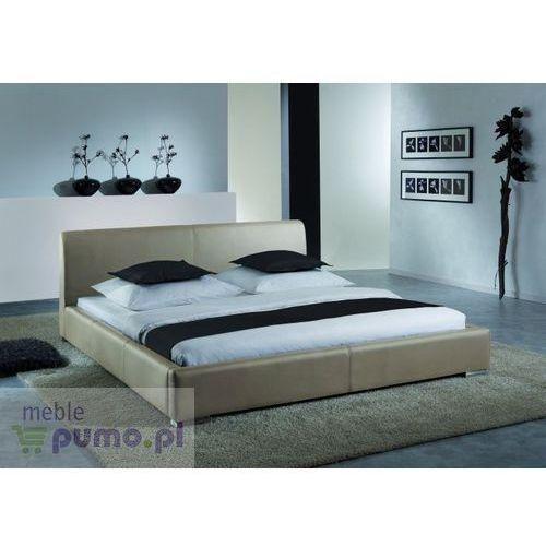 Komfortowe łóżko ALTINO w kolorze muddy - 200 x 200cm ze sklepu Meble Pumo