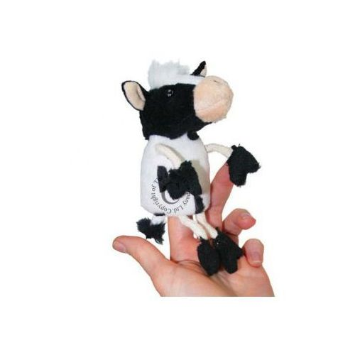 Krowa - pacynka na palec (pacynka, kukiełka)