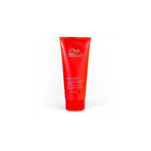 Wella Brilliance odżywka do włosów cienkich i normalnych, farbowanych, 200ml - produkt z kategorii- odżywki do włosów